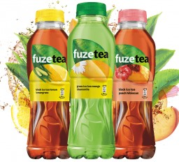 ALUPRINT supplies shrink sleeves for Coca-Cola ice tea FUZETEA